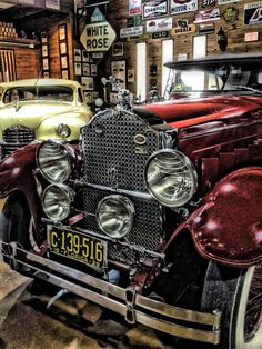 Packard Antique Car.
