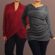 Save up to 65% off during the Stunning Silhouette: Plus-Size Apparel event on #zulily today!