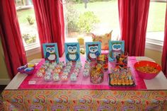 Cute owl party