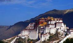 Potala Palace --- home of Dalai Lama until 1959
