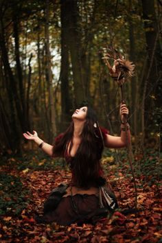autumn outfits, prayer, autumn leaves, witch, circle of life