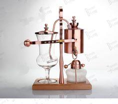 Belgian Copper Coffee Maker.