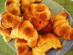 Croissants (receta para panificadora).
