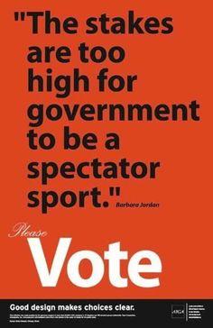 VOTE! BLUE in Nov...........