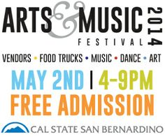 Arts & Music Festival - May 2nd