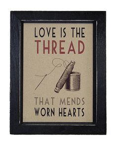 sewing, lace, idea, heart, god, thread, inspir, quot, framed prints