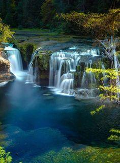 Lower Falls on Mt St Helens