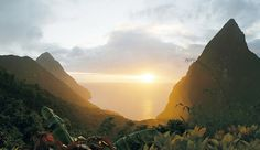Ladera: Around 1,100 feet above the Caribbean Sea, Ladera overlooks the famed Piton Mountains.Soufriere, St Lucia