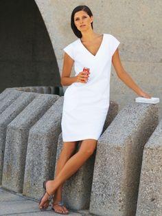 Burda A-Line Dress