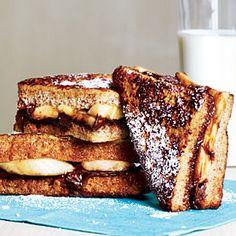 Banana-Chocolate French Toast Recipe