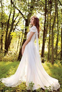 #albertaferretti #bridal #forever #collection #wood #hippie #bride #happy #smile