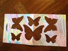 Beautiful Butterflies negative image - how to fold paper to make the most of the die #stampinup www.caroprettythings.com
