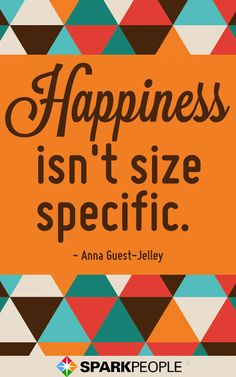 LOVE your body! | via @SparkPeople #motivation #quote #beauty #weight #positive #happiness