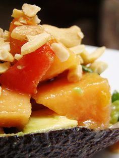 Avocado Papaya Salad.