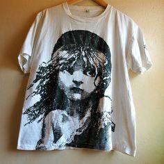 vintage 1986 les miserables t shirt