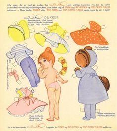 paper dolls, danish paper