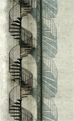 Spiral Stair Shadow