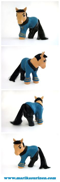 custom my little pony - spock