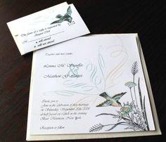 cute bird invitations