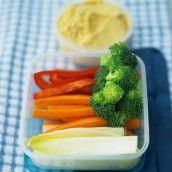 Spruce up those plain raw veggies