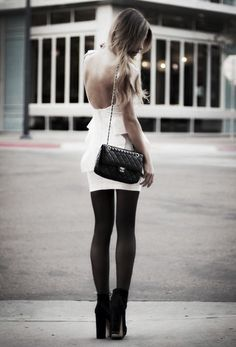 Black and White (and Chanel!) perfect!