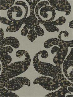 damask leopard wallpaper