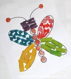 Toddler Activities: Colorful Pasta Projects, Necklaces, Bracelets and Pictures
