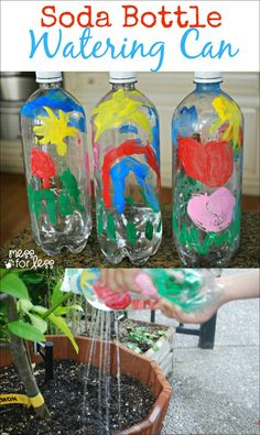 Soda Bottle Watering Can | Mess For Less