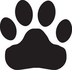 tiger paw, svg, panther