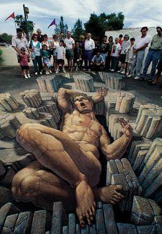 3D graffiti - Kurt Wenner