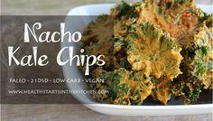 Nacho Kale Chips - Health Starts in the Kitchen