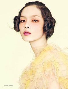 Fei Fei Sun by Sun Jun for L'Officiel China, June 2011 #beauty