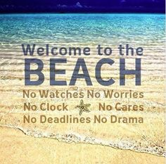 Welcome to the Beach...