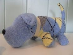 DIY, Sock Dog this would be a good toy for my dog.