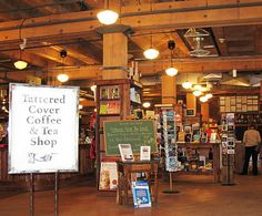 One of my favorite bookstores in the world. The Tattered Cover - Downtown Denver.