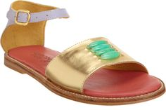 Semi-precious sandals