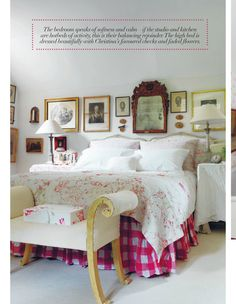 Heart Home magazine Issue 12 August 2014. Home of the founder of Cabbages & Roses, a bucolic country cottage.