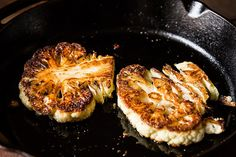 How to Make Cauliflower Steaks with Cauliflower Purée