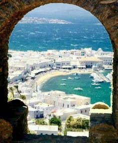 Mykonos, Greece http://www.yourcruisesource.com/two_chefs_culinary_cruise_-_istanbul_to_athens_greek_isles_cruise.htm