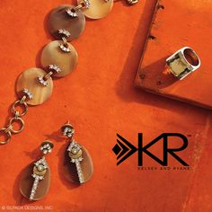 Don jewels that pack a punch with #Silpada K & R Horn Jewelry. #WomensFashion