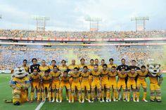 Presentación de Tigres UANL para el Apertura 2012, en el estadio Universitario.