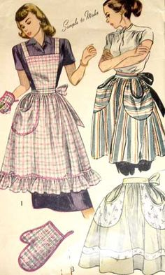 sold: 1940's Simplicity 2295