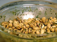Rosemary Roasted Cashews from FoodNetwork.com