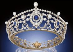 The Portland Tiara, created by E. Wolff  Co. for Garrard shortly after William Cavendish-Bentinck, the 6th Duke of Portland, married Winnifred Dallas-Yorke in 1889