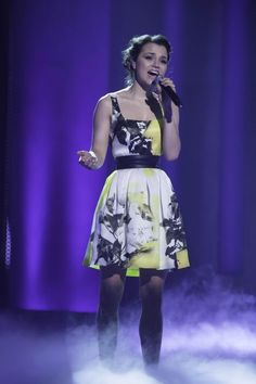 Samantha Barks performing for ALW Special!