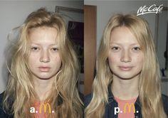 McDonald's McCafé: AM–PM, Girl 1