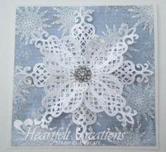 Heartfelt Creations   Crystal Snowflake