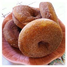 pumpkin donuts -yum!  king arthur flour recipe