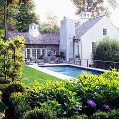 A post with tons of GORGEOUS pool inspiration pics!! Pin away!!! #pools via interior designer @FieldstoneHill Design, Darlene Weir