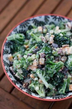 Lightened Up Broccoli Salad | AggiesKitchen.com